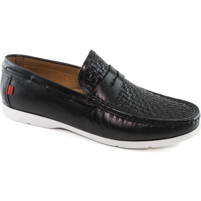 Marc Joseph New York Thompson Street Penny Loafer- Black