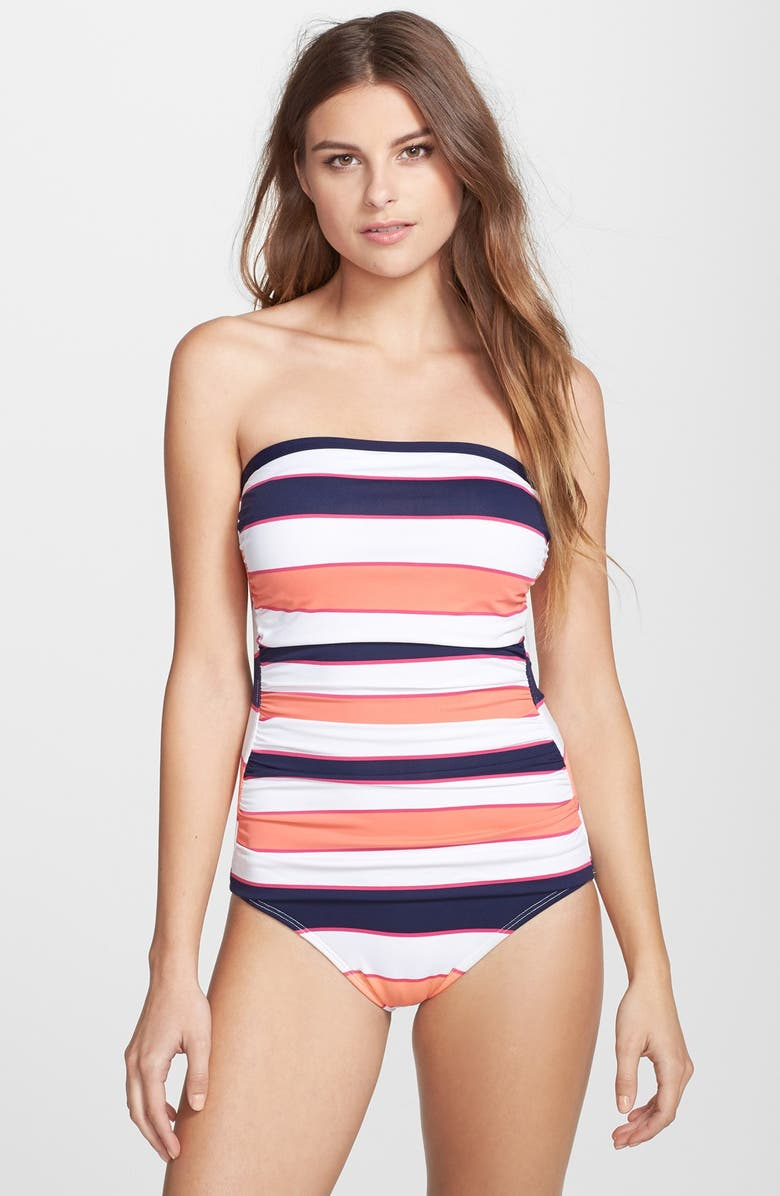 9fa98ccb66ee8 Tommy Bahama Rugby Stripe One-Piece Swimsuit | Nordstrom