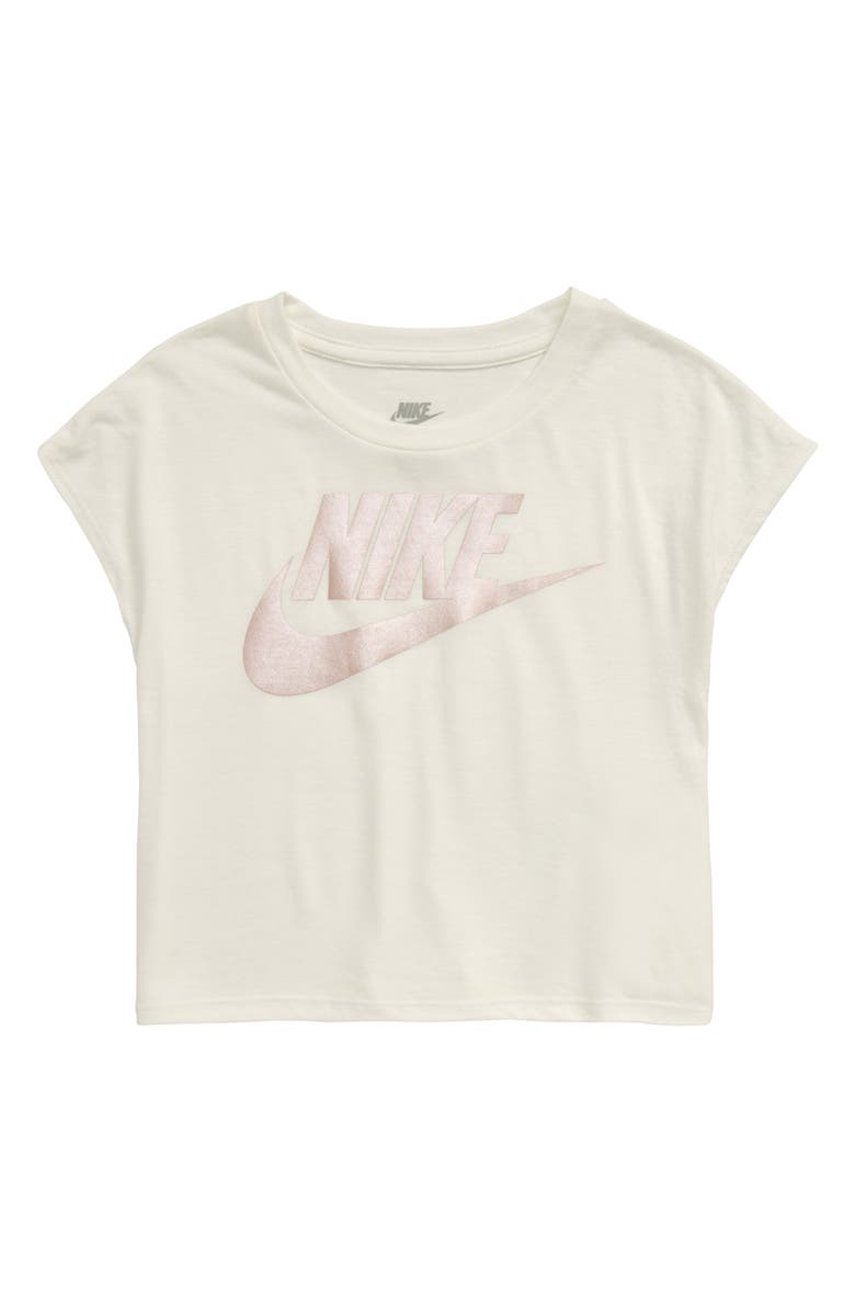NIKE Boxy Graphic Tee, Main, color, SAIL