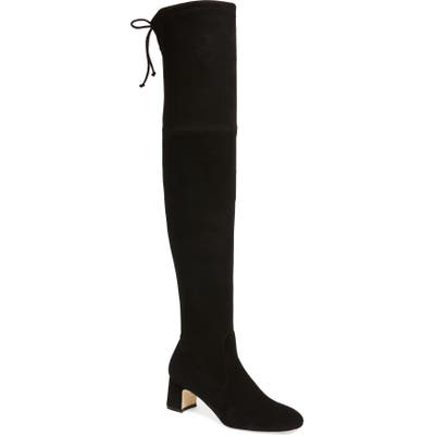 Stuart Weitzman Kirstie Over The Knee Boot- Black