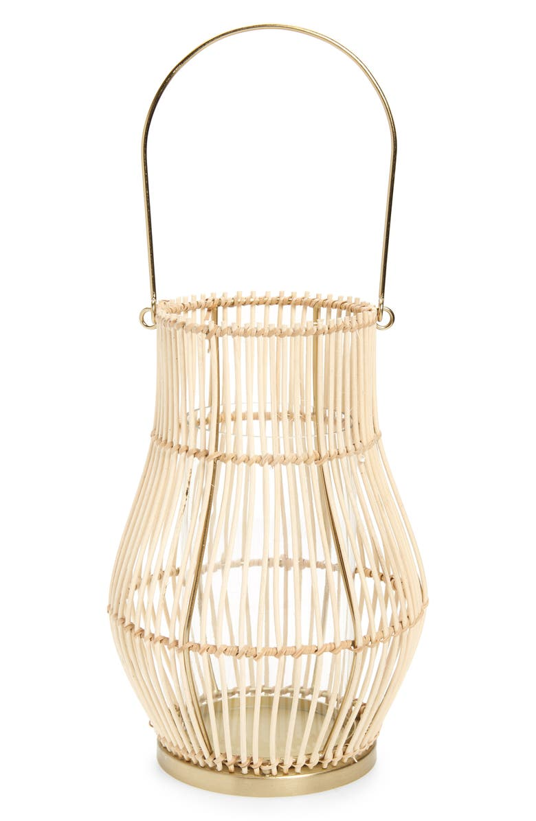 ANTHROPOLOGIE HOME Jolie Bamboo Lantern, Main, color, 250