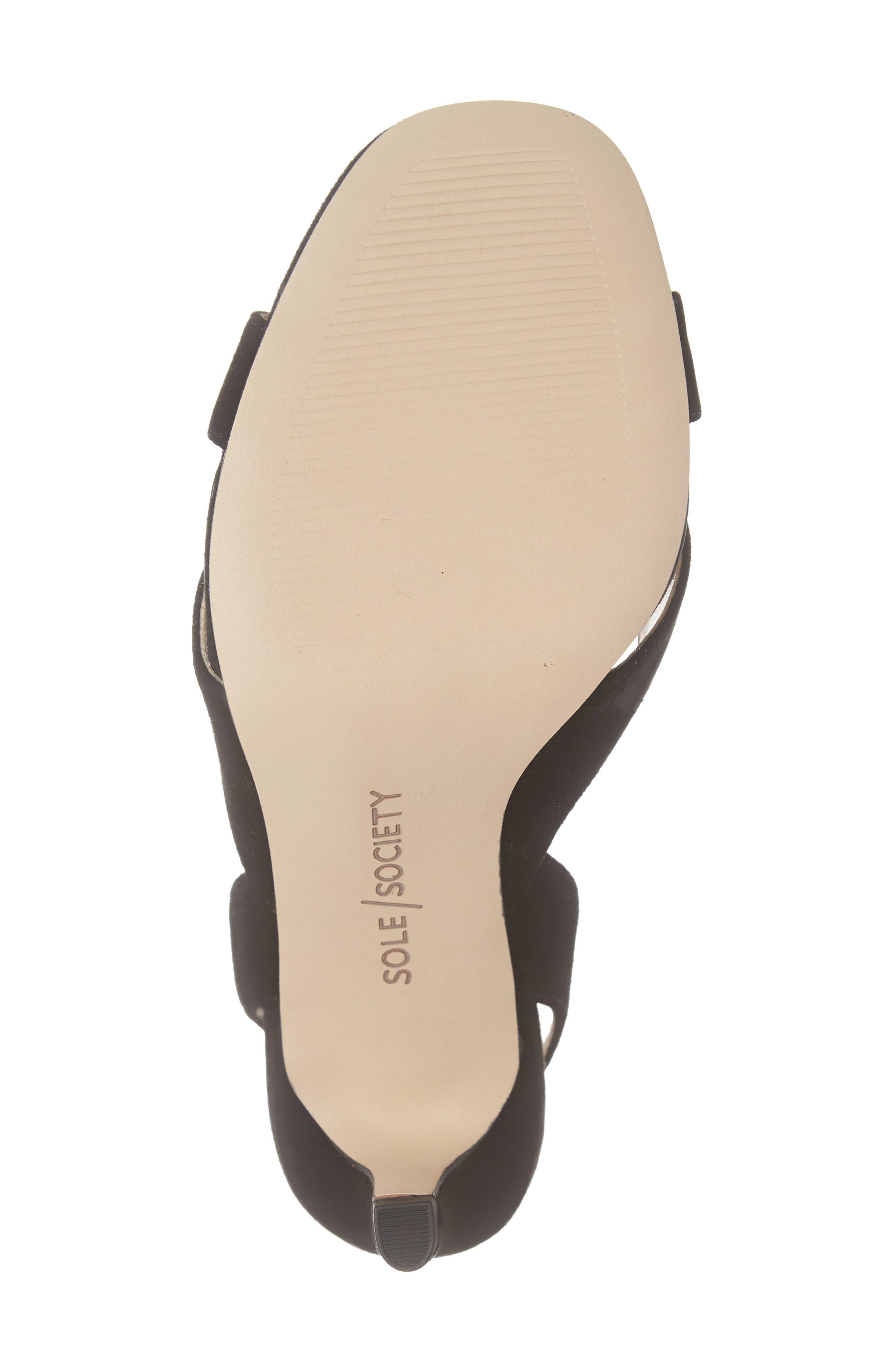 ,                             Cassidea Ankle Strap Sandal,                             Alternate thumbnail 6, color,                             001