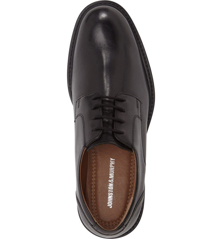 Tabor Plain Toe Derby by Johnston & Murphy