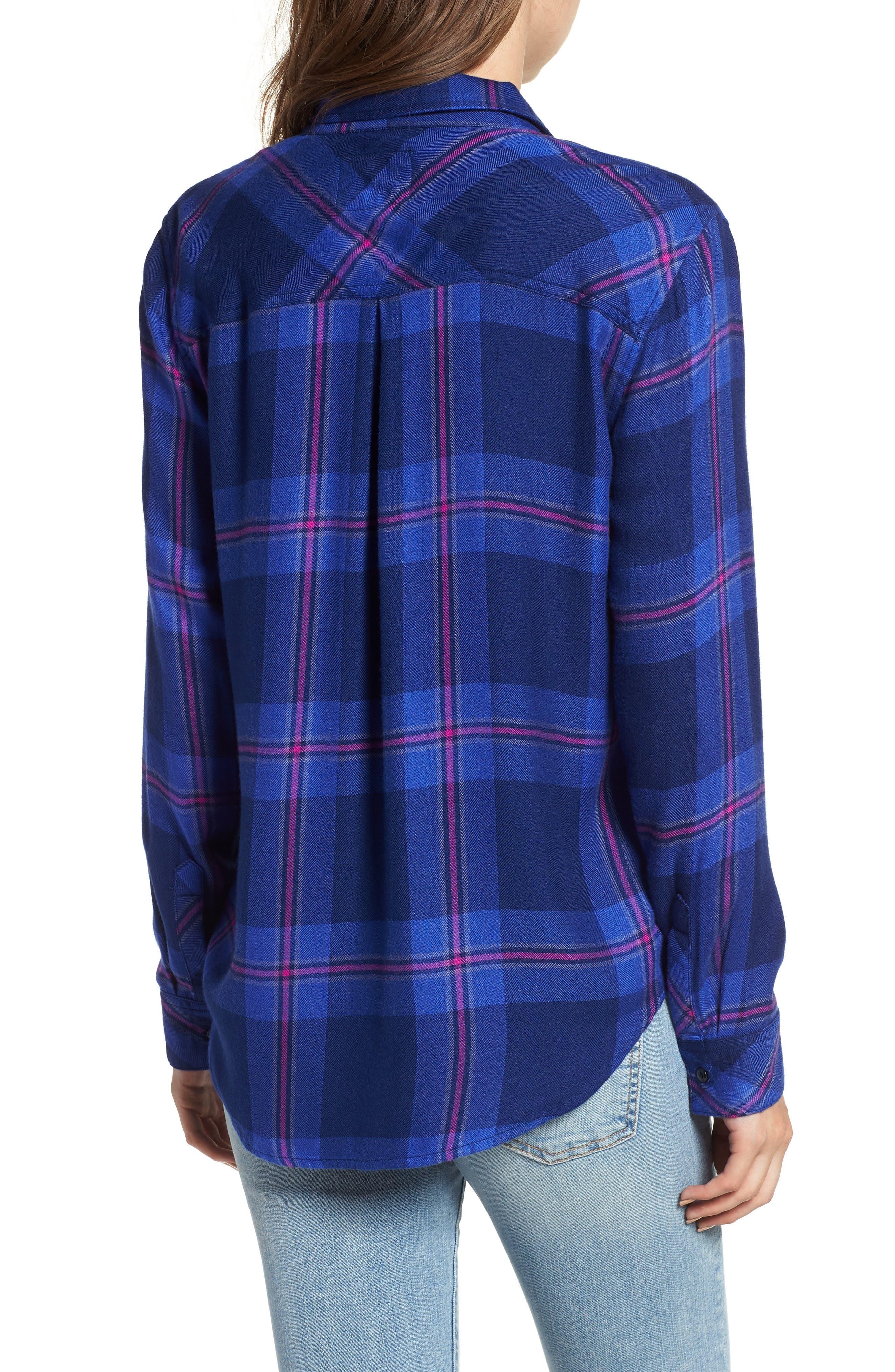 ,                             Hunter Plaid Shirt,                             Alternate thumbnail 850, color,                             456