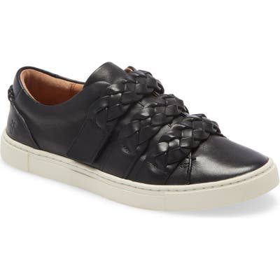 Frye Ivy Braid Strap Sneaker- Black