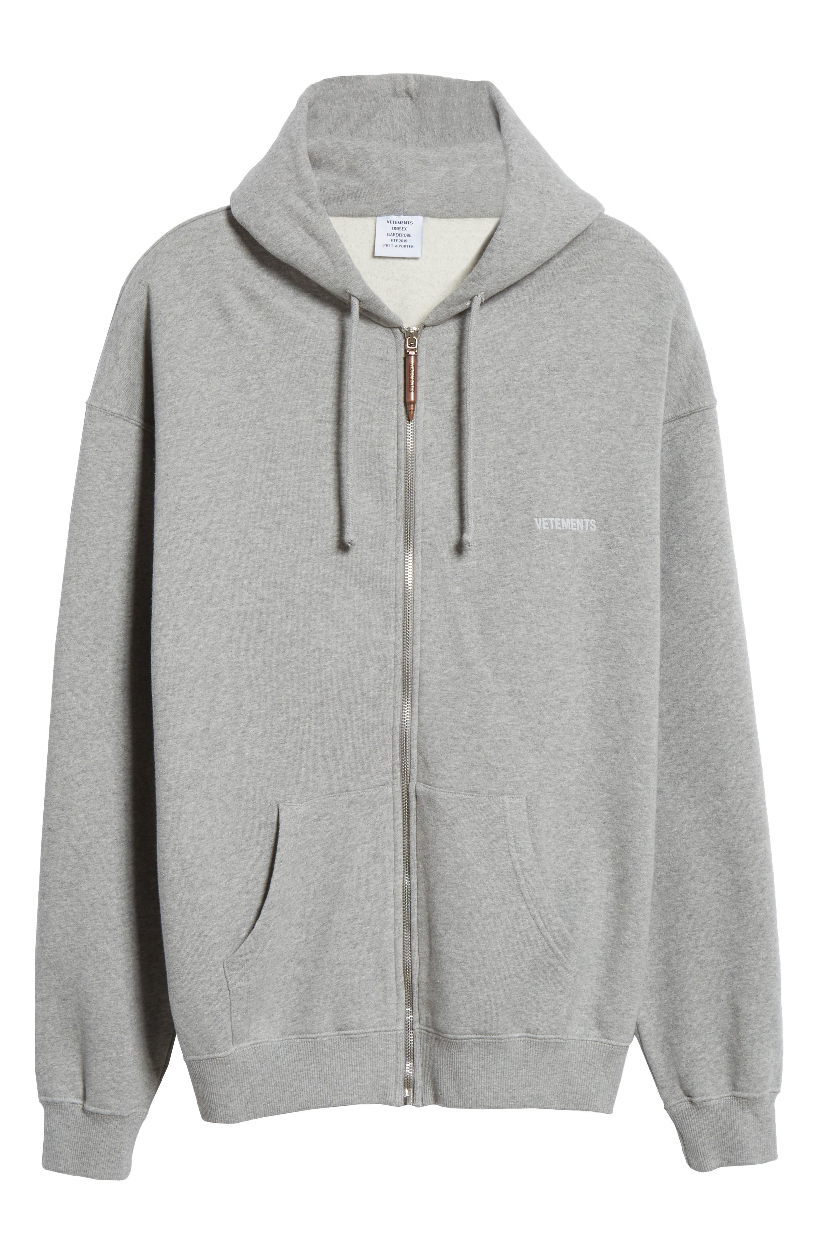 ,                             Elbow Cutout Hoodie,                             Alternate thumbnail 7, color,                             GREY