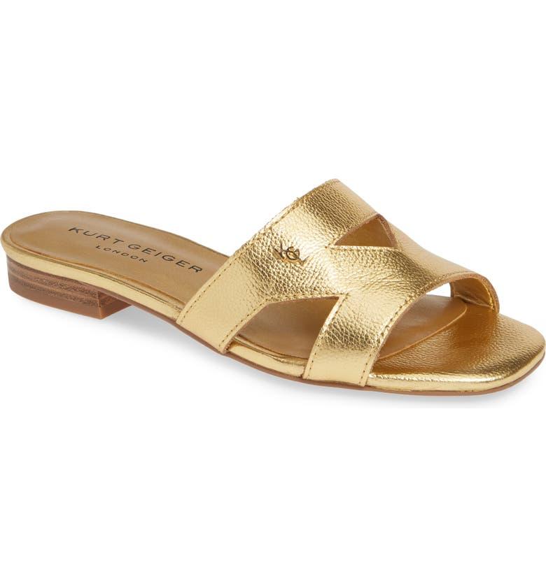 507645738cf Kurt Geiger London Odina Cutout Slide Sandal (Women) | Nordstrom