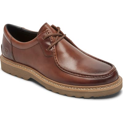 Rockport Peirson Moc Toe Derby, Brown