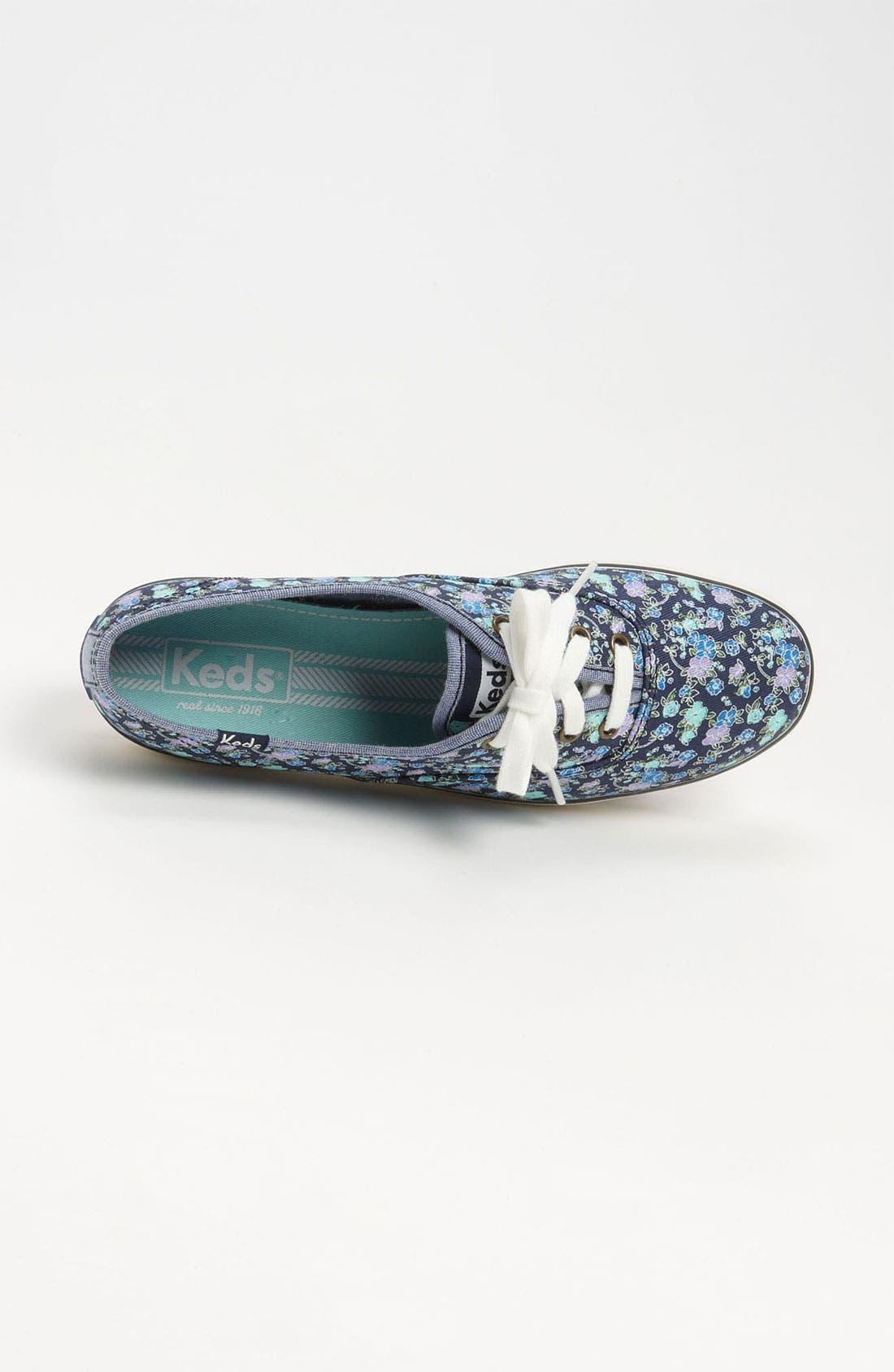 ,                             'Champion - Floral' Sneaker,                             Alternate thumbnail 6, color,                             400