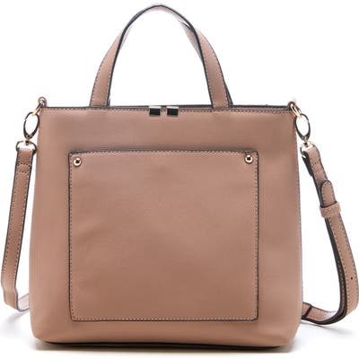 Sole Society Faux Leather Tote - Pink