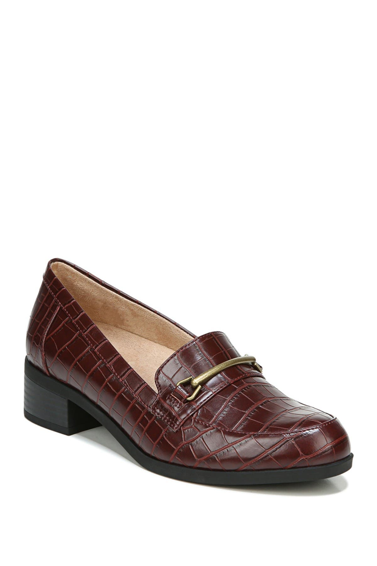 Image of SOUL Naturalizer Firstly Croc Embossed Loafer - Wide Width Available