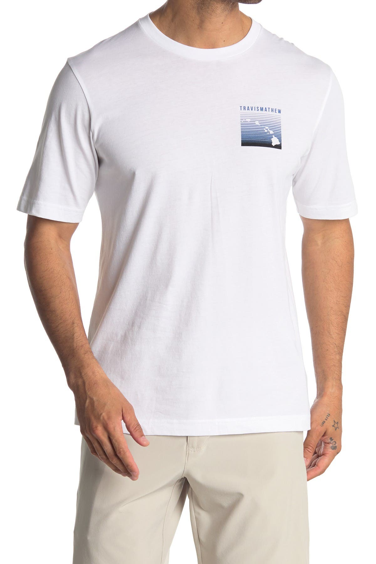 Image of TRAVIS MATHEW Surf Lessons Graphic T-Shirt
