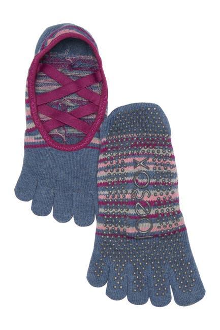 Image of ToeSox Full Toe Elle Grip Socks