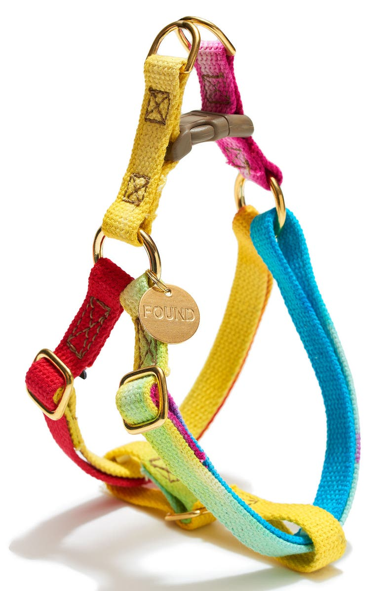 FOUND MY ANIMAL Prismatic Adjustable Pet Harness, Main, color, 650