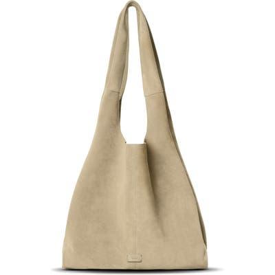 Shinola Market Leather Hobo Bag - Ivory