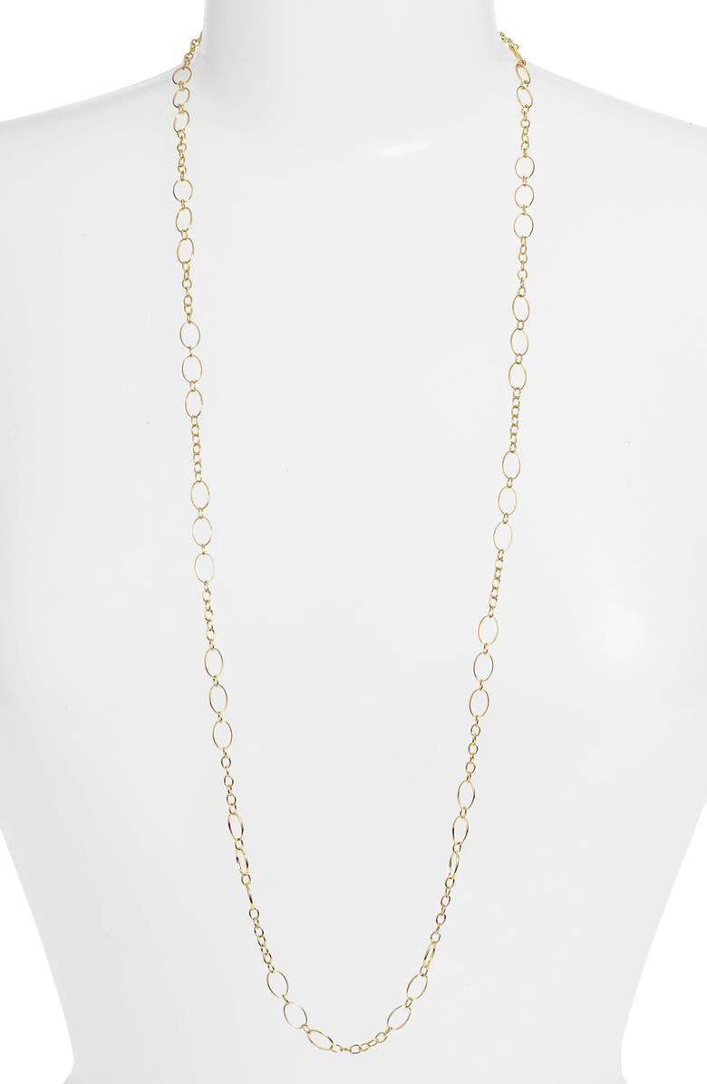 ARGENTO VIVO Long Layering Chain, Main, color, GOLD
