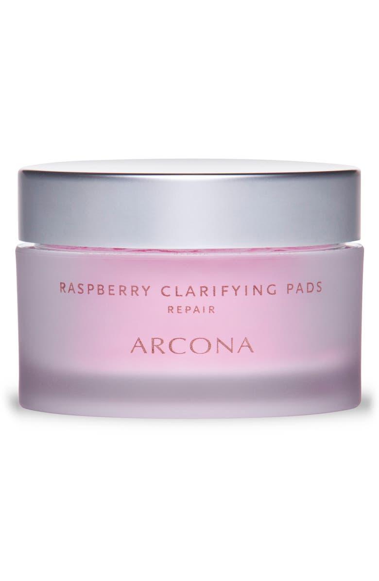ARCONA Raspberry Clarifying Pads, Main, color, NO COLOR