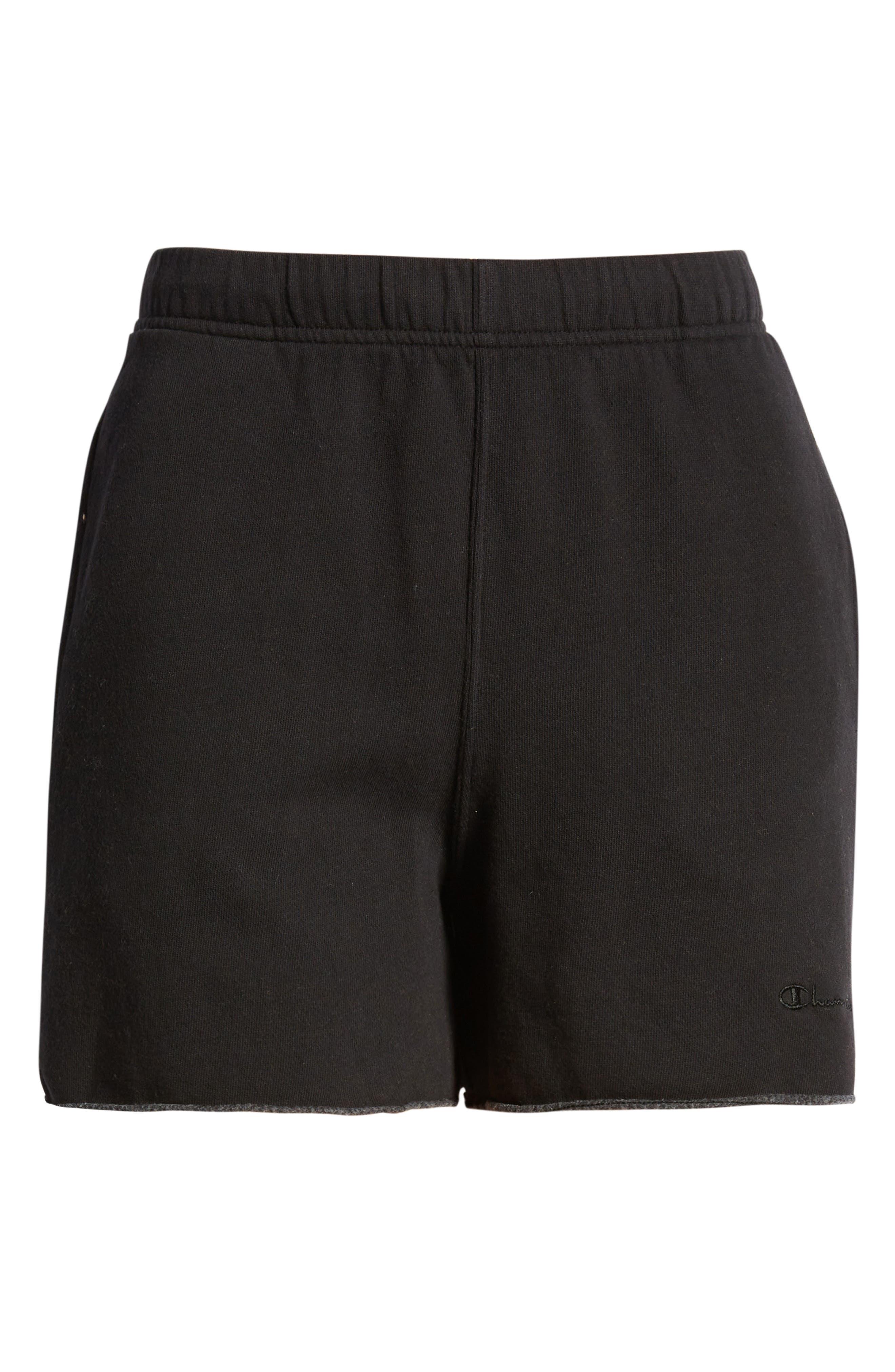 Lightweight Fleece Boyfriend Shorts