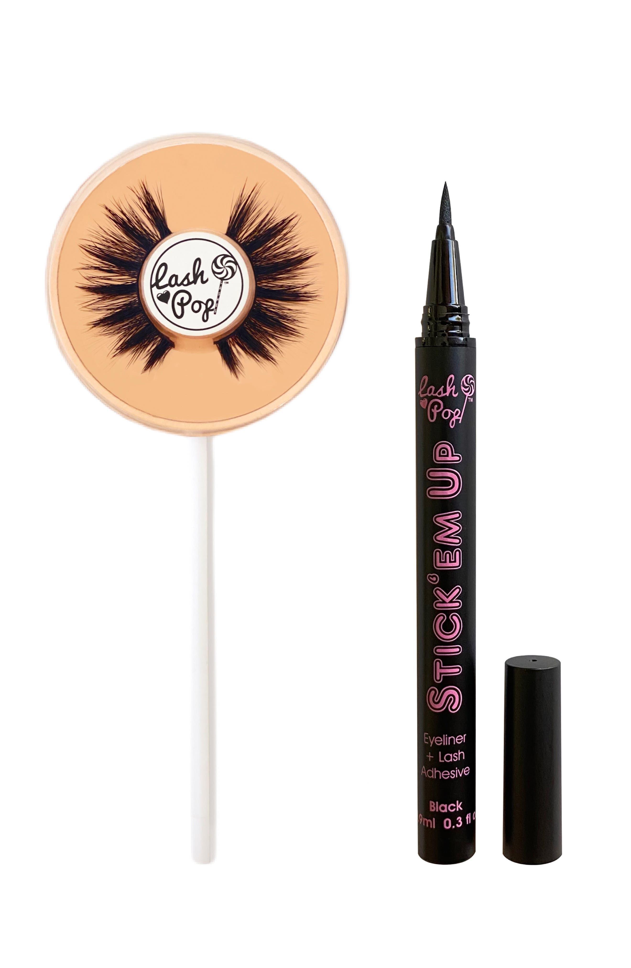 Send Nudes False Eyelashes & Stick 'Em Up 2-In-1 Eyeliner & Lash Adhesive Set