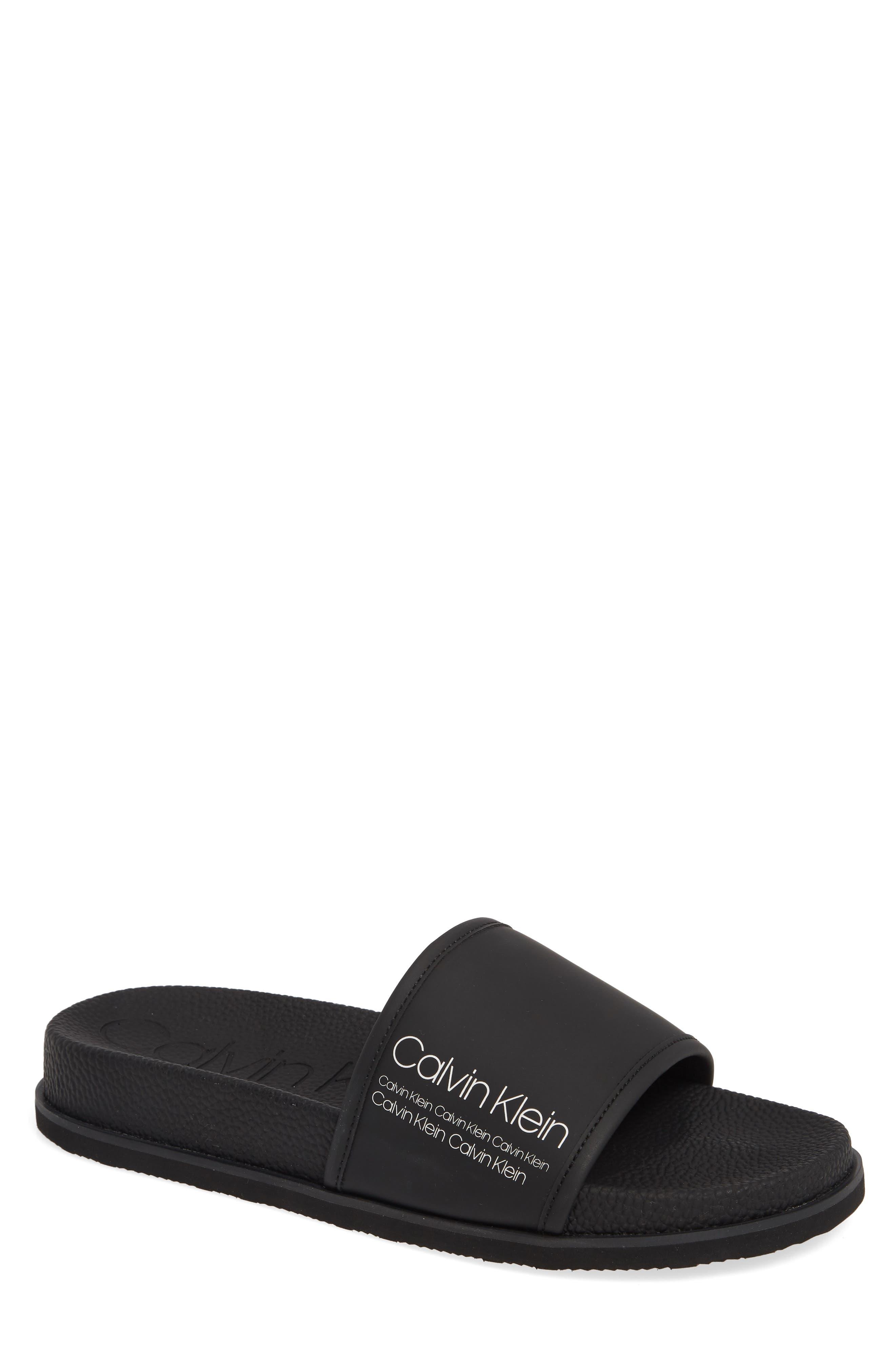 Calvin Klein Mackee Slide Sandal (Men