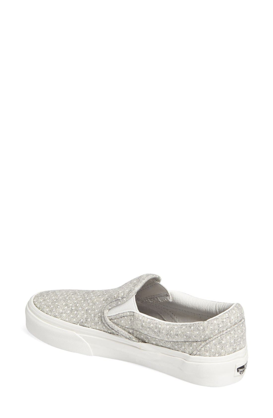 ,                             Classic Slip-On Sneaker,                             Alternate thumbnail 254, color,                             020