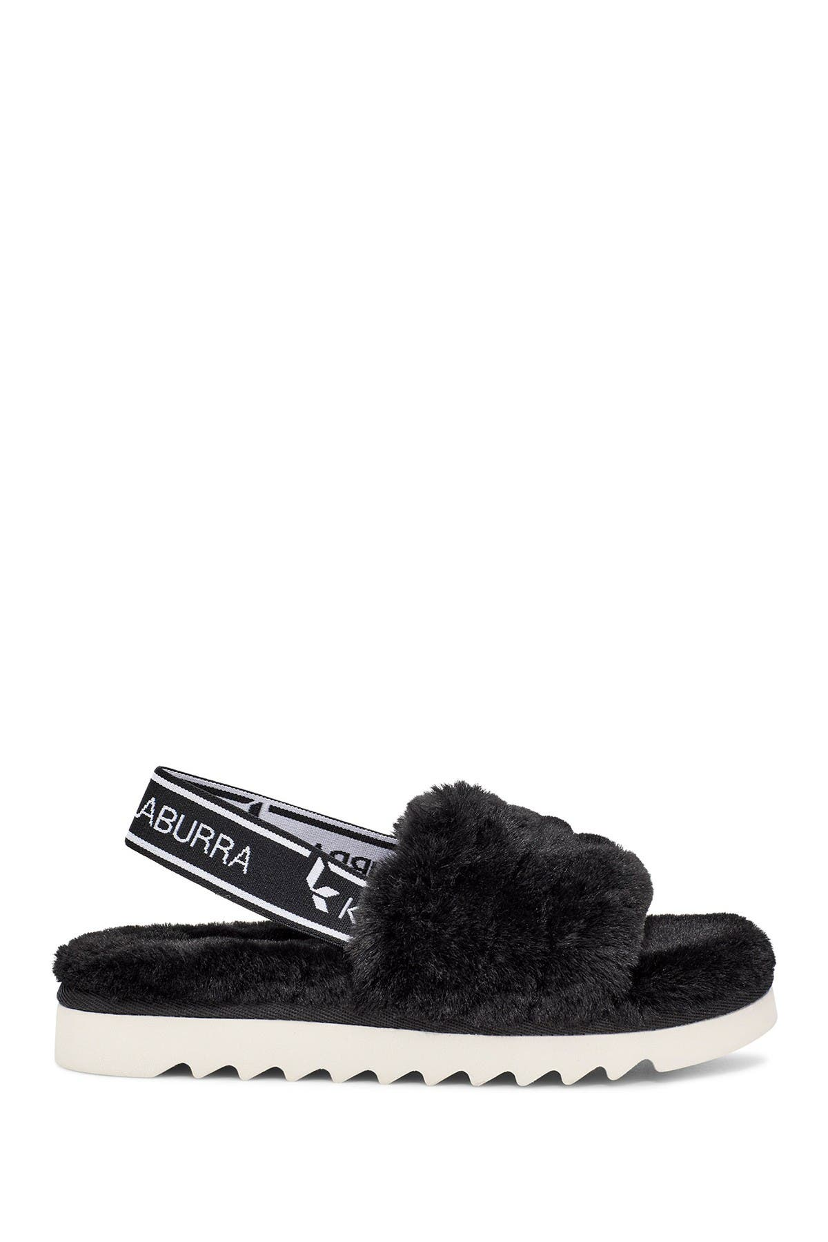 KOOLABURRA BY UGG Fuzz'n Faux Fur Slipper Sandal