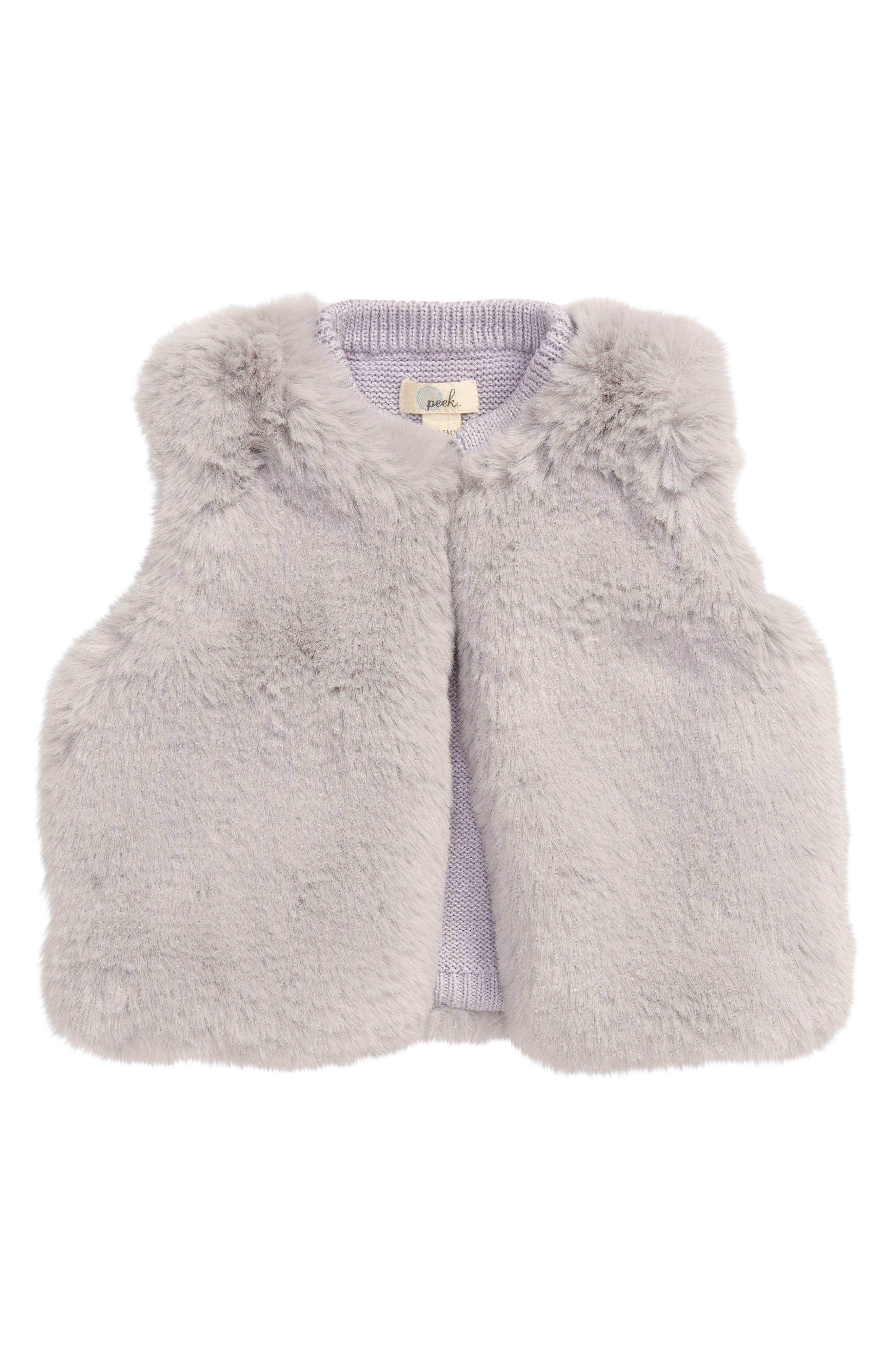 Image of PEEK ESSENTIALS Hayden Faux Fur Vest