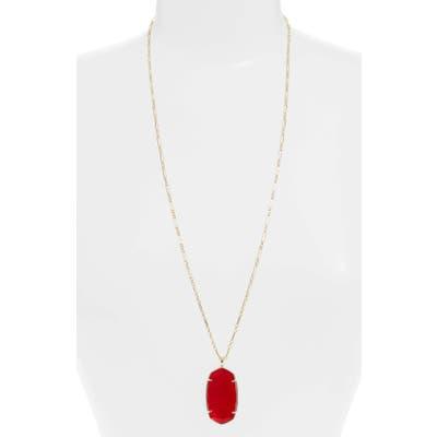 Kendra Scott Reid Long Faceted Pendant Necklace