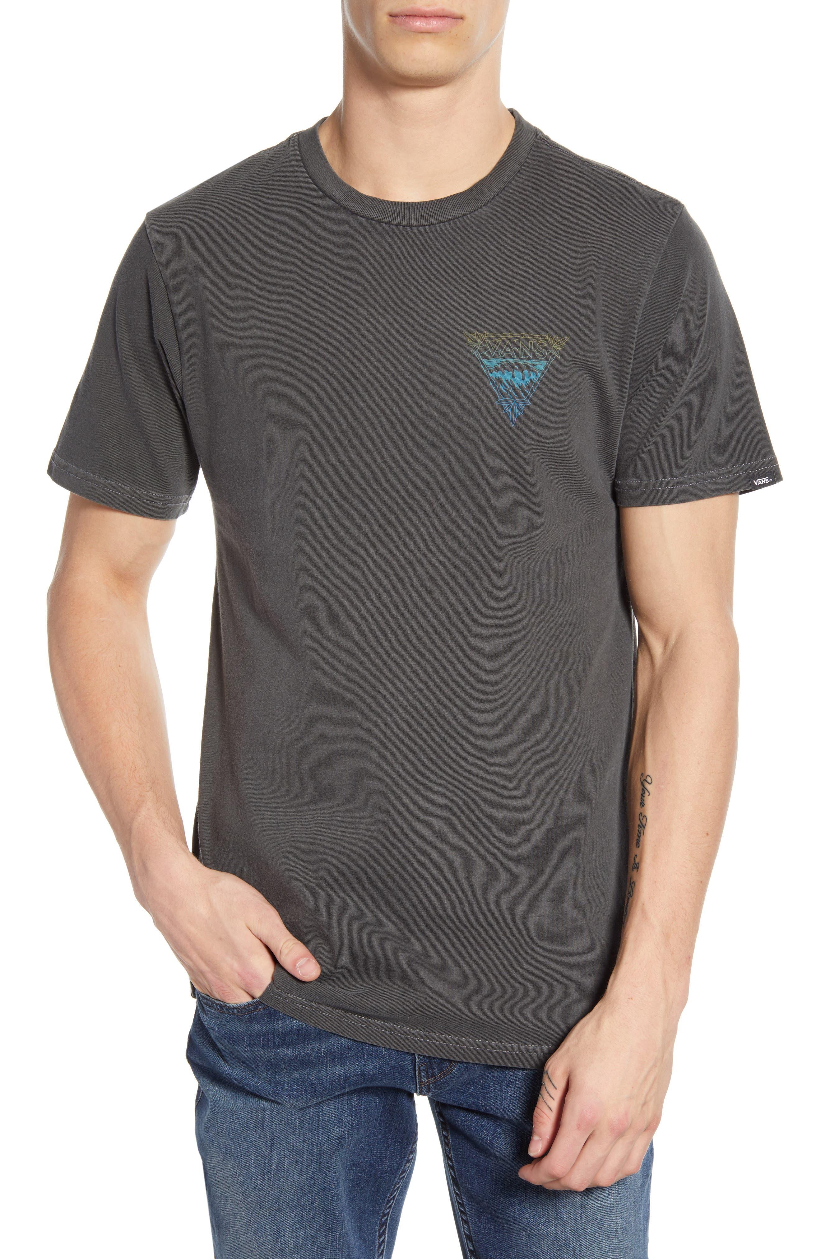 Vans Vintage Waves T-Shirt, Black