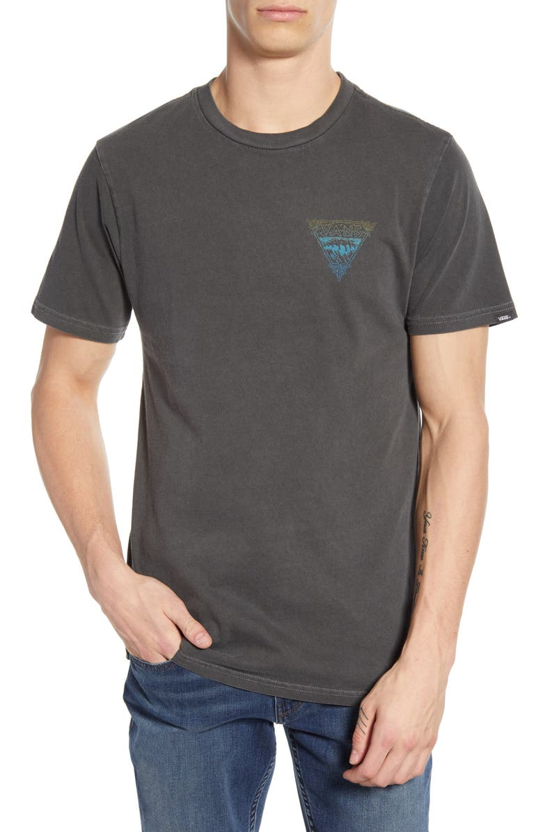 VANS Vintage Waves T-Shirt, Main, color, 001