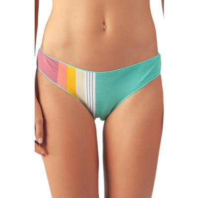 Rip Curl Beach Street Stripe Hipster Bikini Bottoms