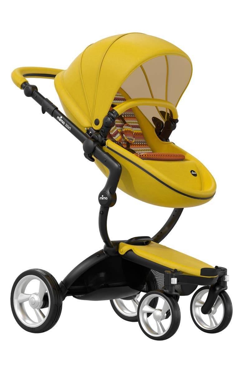 MIMA Xari Special Edition Chassis Stroller with Seat, Carrycot & Accessories, Main, color, SPECIAL EDITION YELLOW