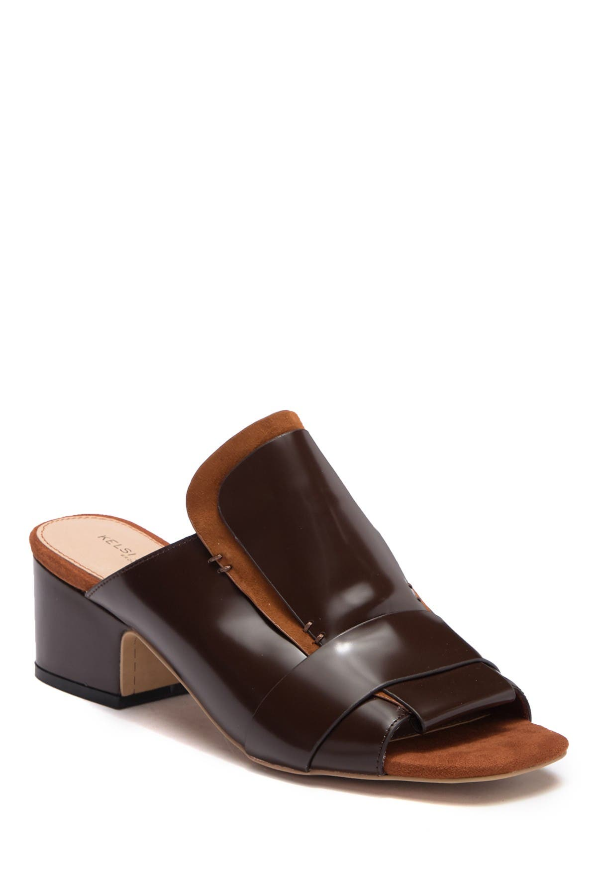Image of Kelsi Dagger Brooklyn Sadie Leather Mule Sandal