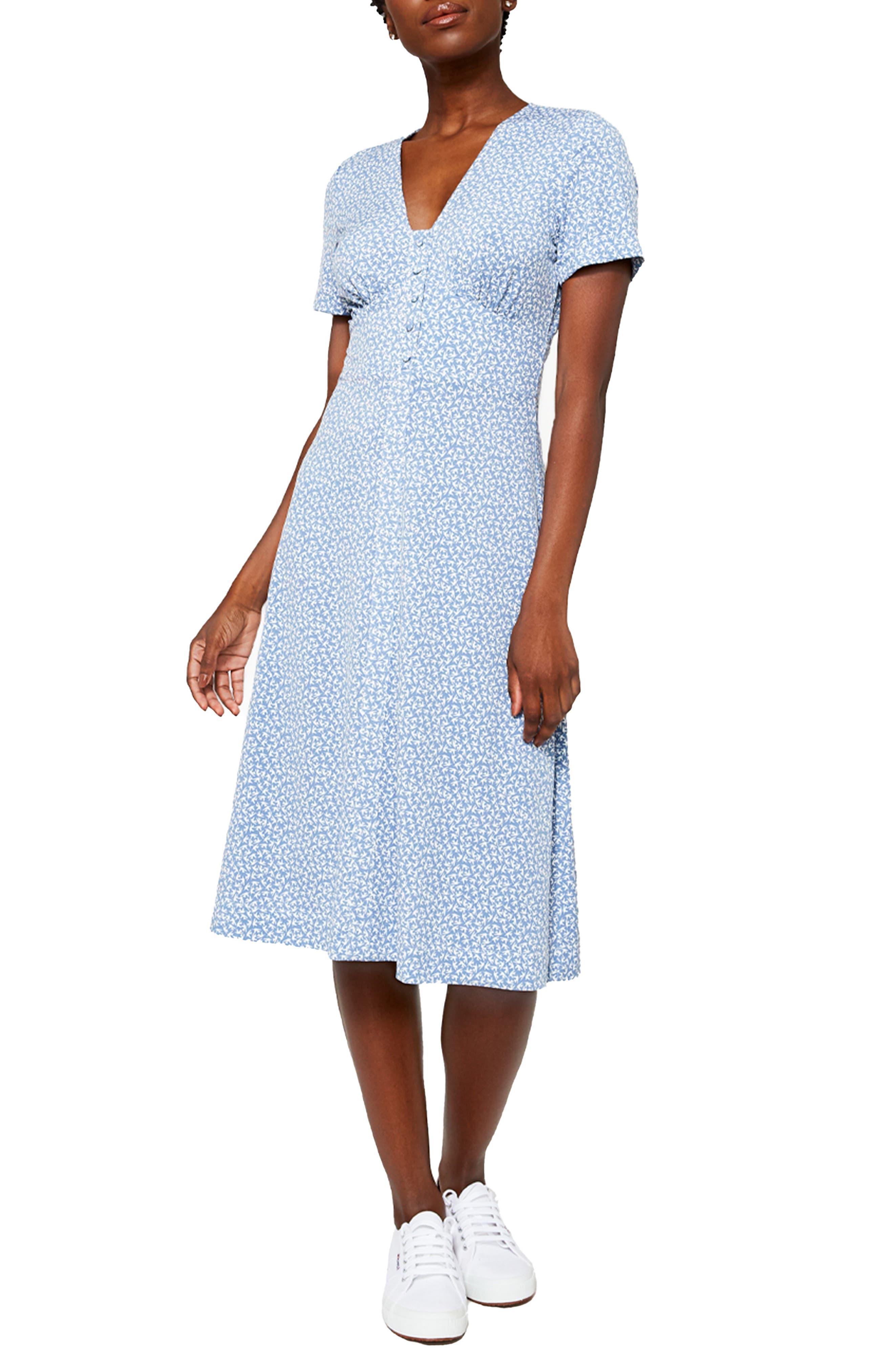 Francesca Bird Print Dress