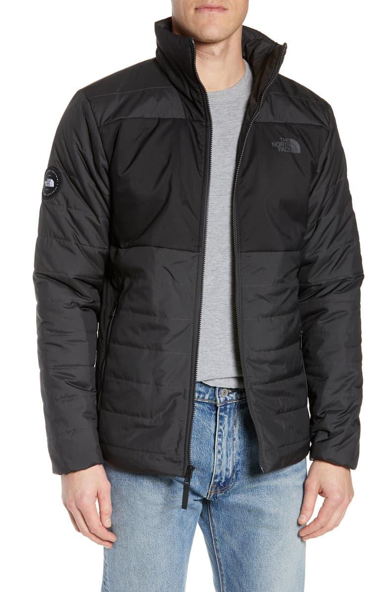 THE NORTH FACE Insulated Jacket, Main, color, TNF BLACK/ ASPHALT GREY