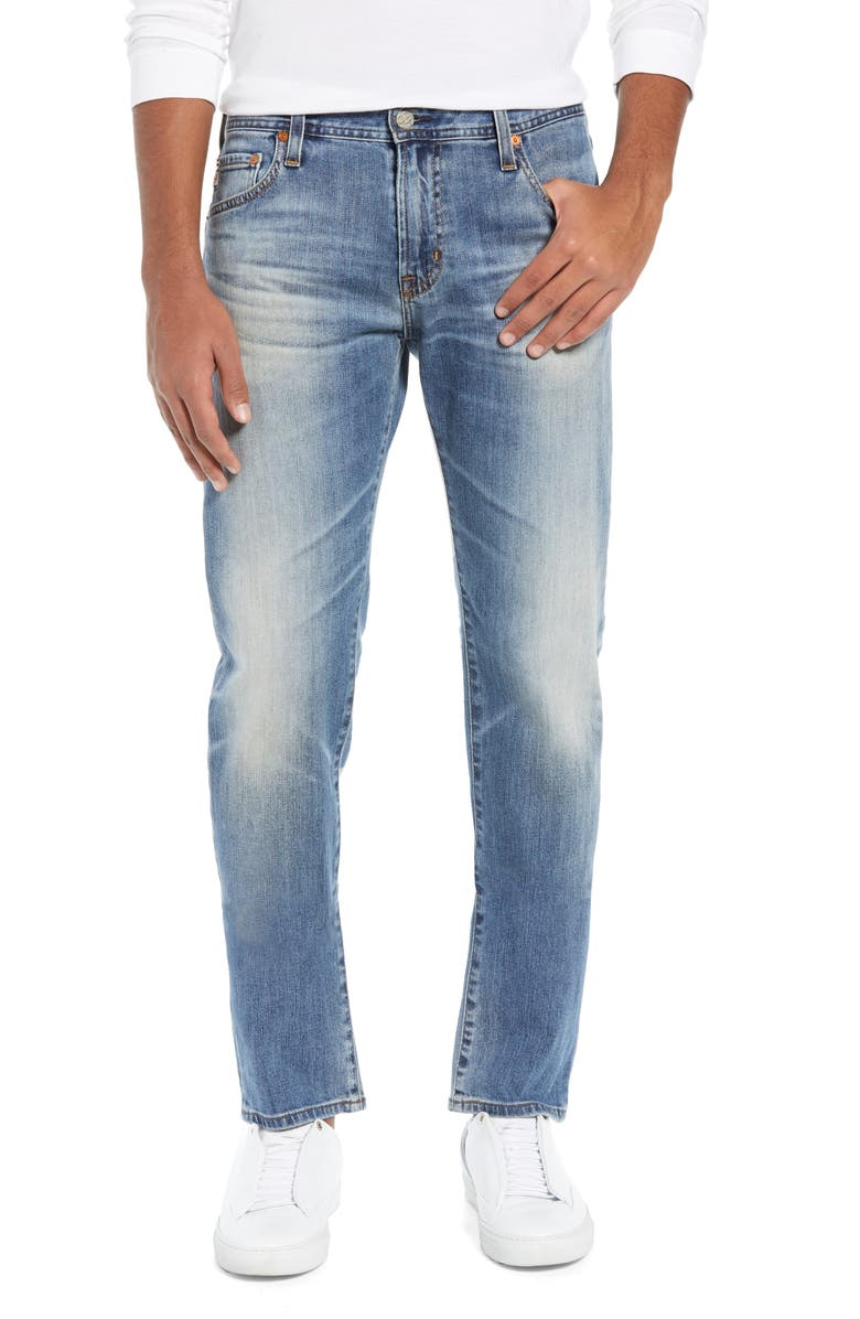 AG Tellis Slim Fit Jeans, Main, color, 21 YEARS SEIZE