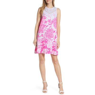Lilly Pulitzer Nala Sleeveless Shift Dress, White