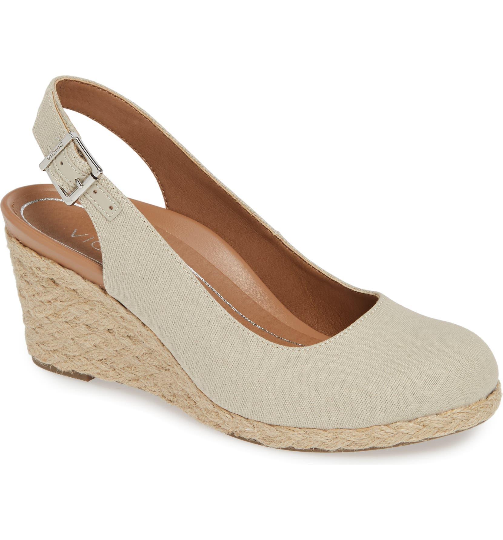143b899a234 Coralina Orthaheel® Espadrille Wedge Slingback Sandal
