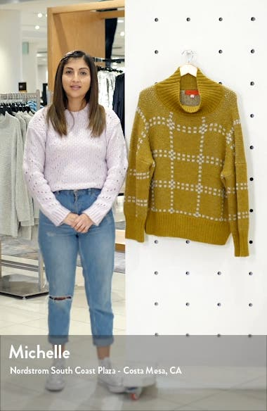 Check Alpaca Blend Sweater, sales video thumbnail