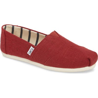 Toms Alpargata Slip-On, Burgundy