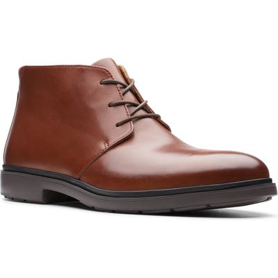 Clarks Un Tailor Chukka Boot- Brown