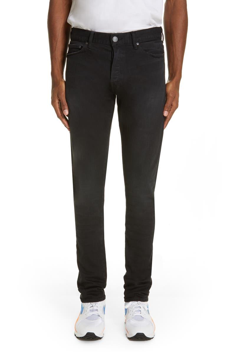 JOHN ELLIOTT The Cast 2 Slim Fit Jeans, Main, color, CARBON