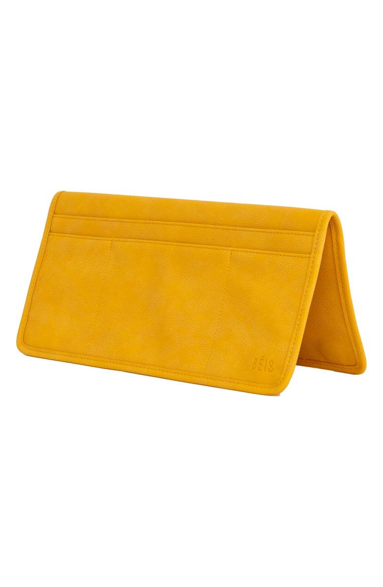 BÉIS The In-Flight Organizer Pouch, Main, color, YELLOW