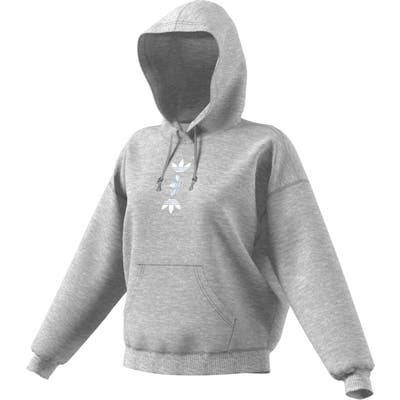 Adidas Originals Large Logo Hoodie, Grey