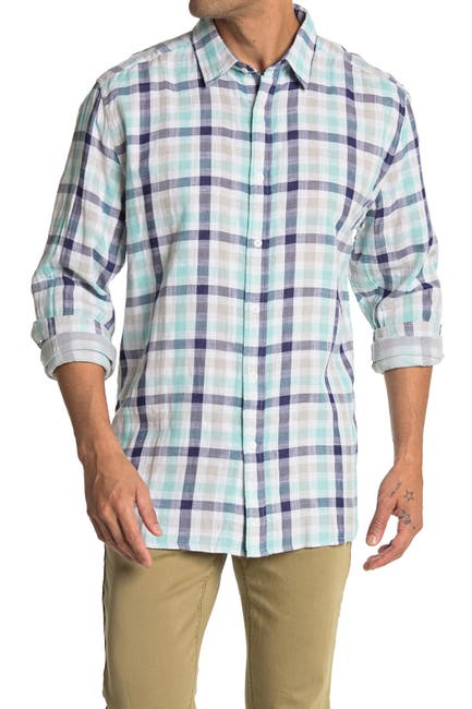 Image of Gilded Age Gild Plaid Classic Fit Shirt