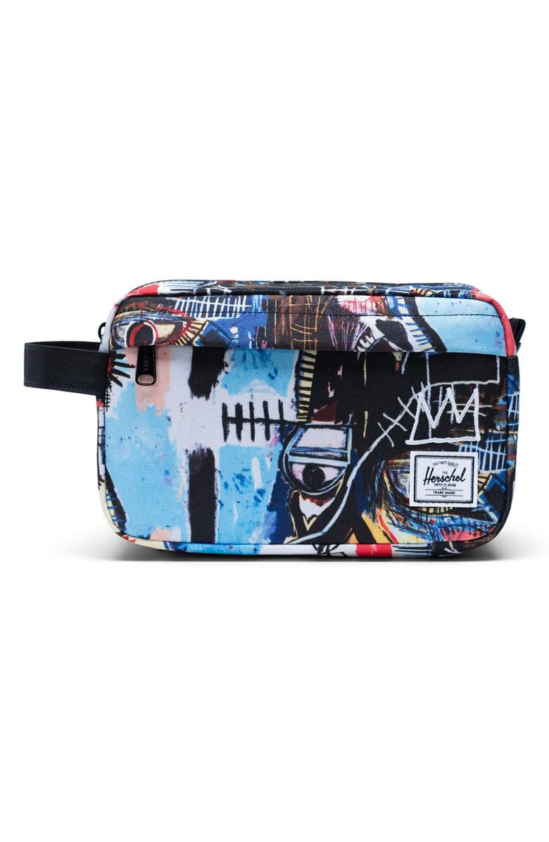 HERSCHEL SUPPLY CO. Basquiat Chapter Dopp Kit, Main, color, 154