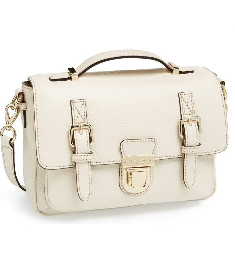 KATE SPADE NEW YORK 'lola avenue - lia' leather crossbody satchel, Main, color, 144
