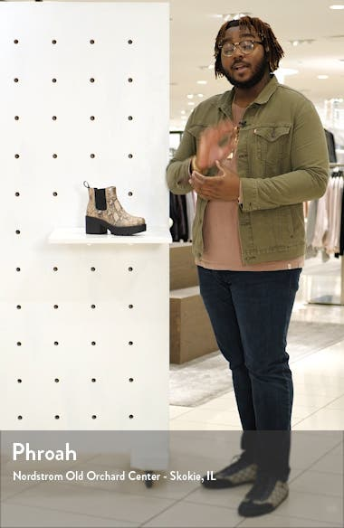 Dioon Platform Chelsea Bootie, sales video thumbnail