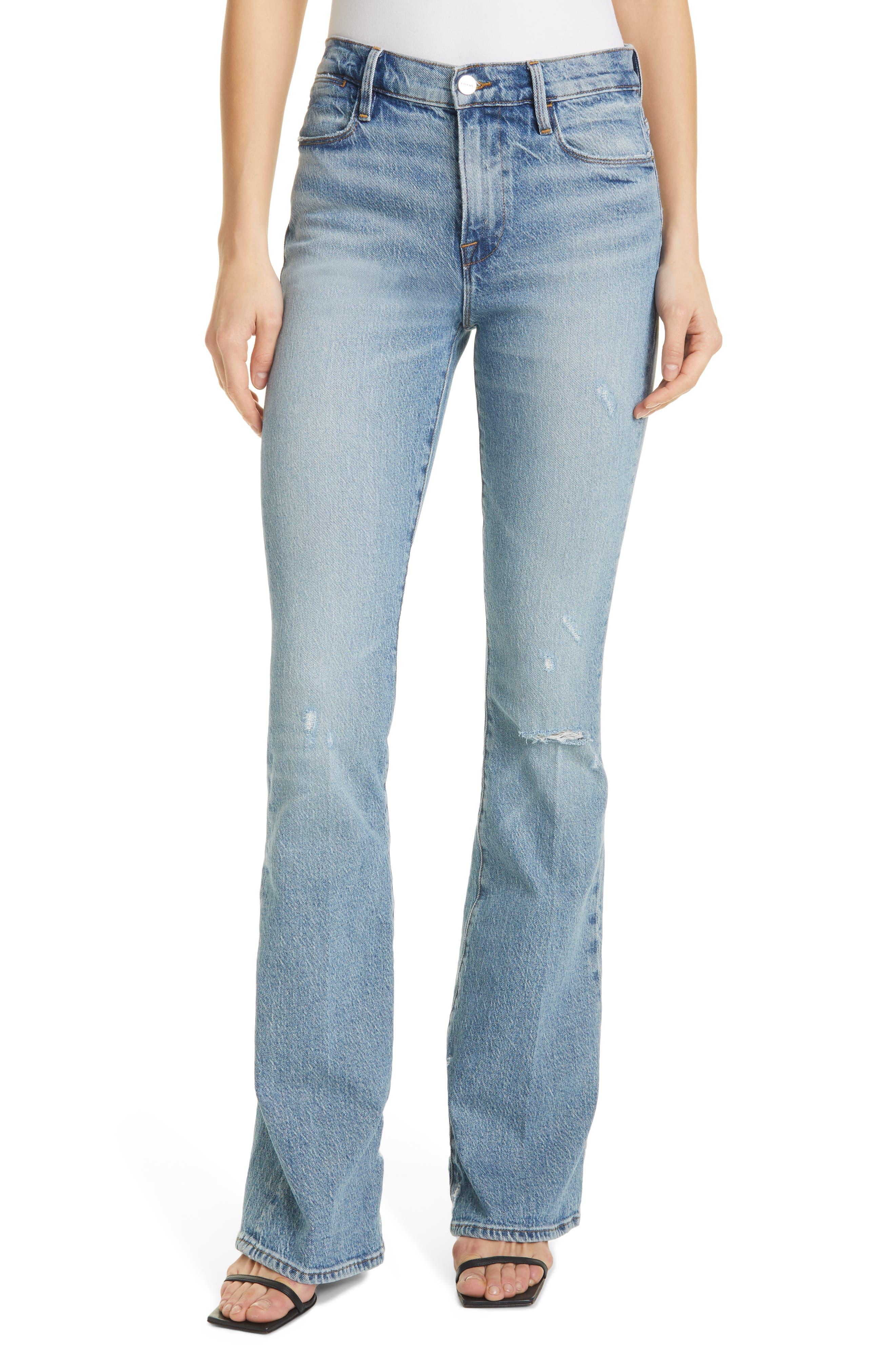 Women's Frame Le High Waist Flare Jeans