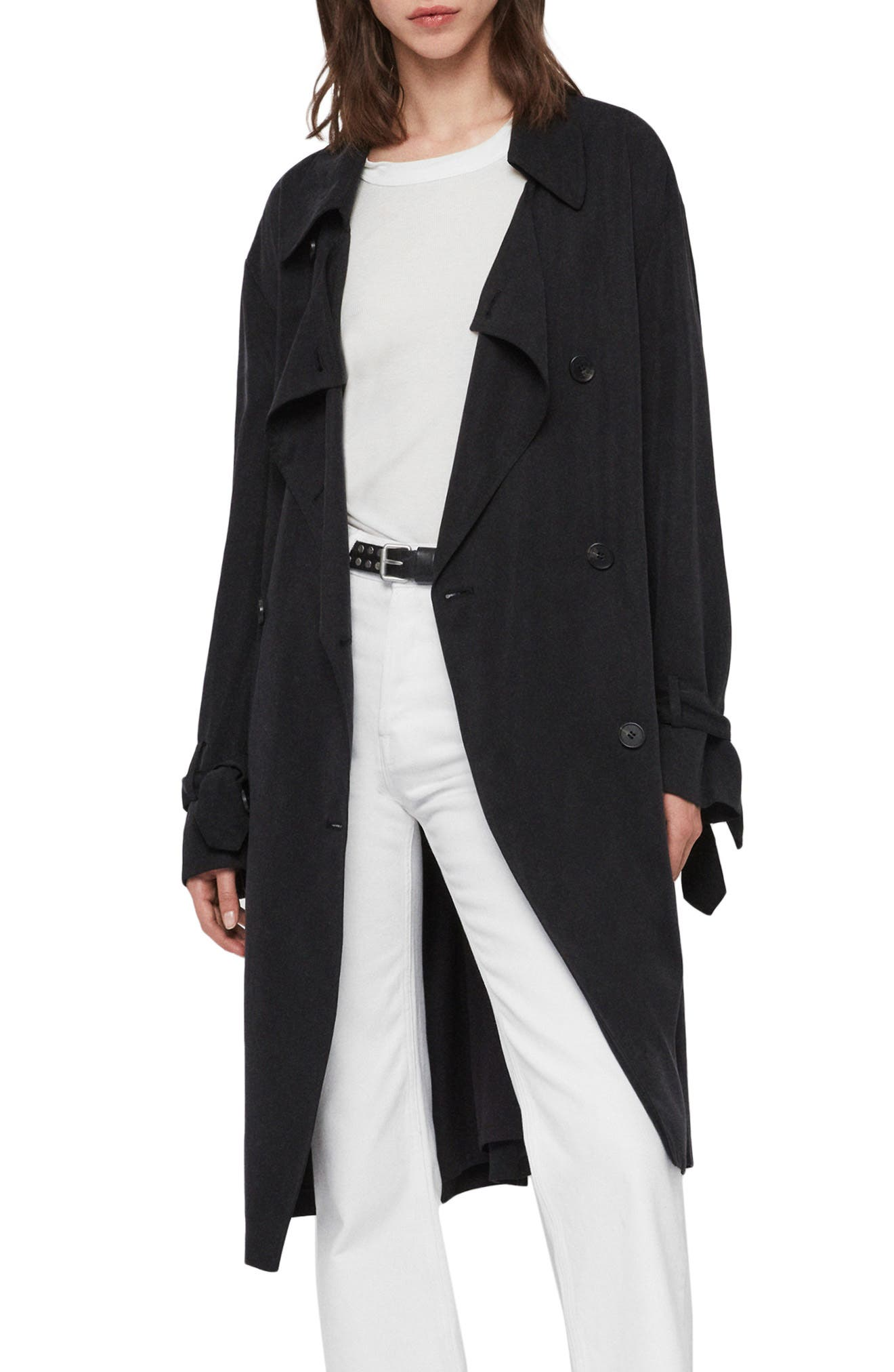 Allsaints Coats Ria Trench Coat